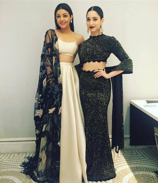 Kajal Agarwal and Tamanna Bhatia