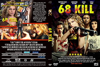 68 Kill - Cover DVD