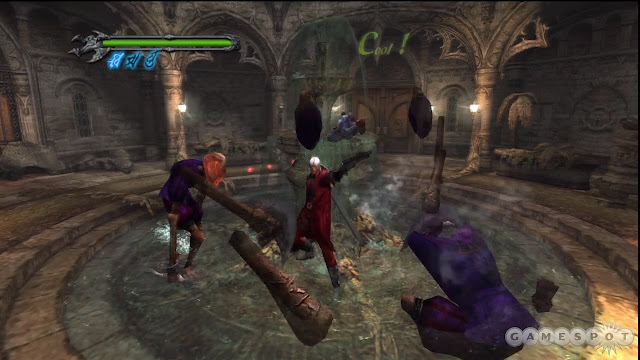 Devil May Cry PS2 GAME ISO Screenshot 1