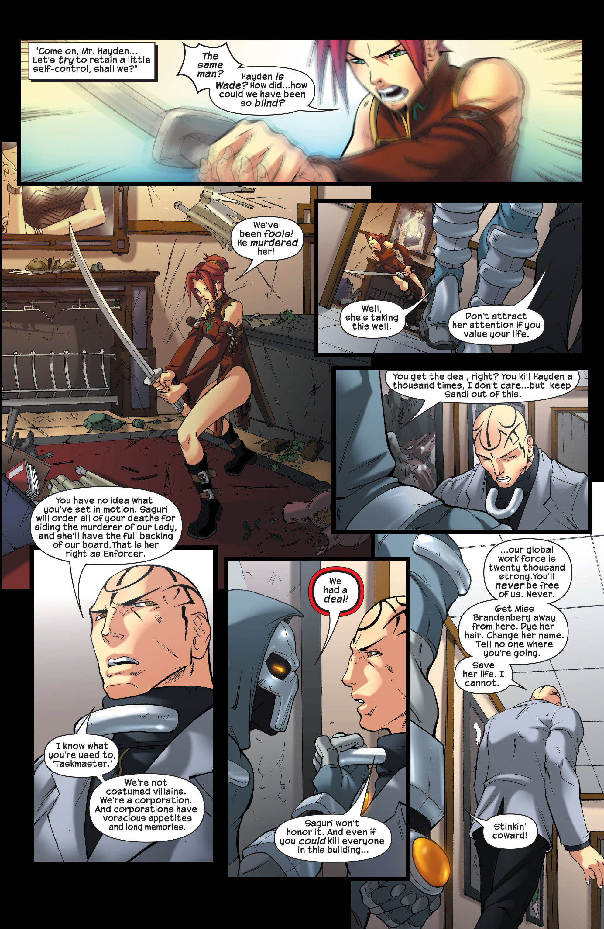Read online Agent X comic -  Issue #5 - 10