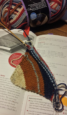 One for the books is pattern name for the Strickplaner cover.
