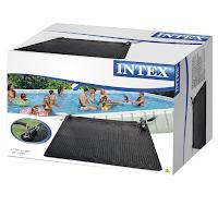 Tapis Intex chauffe l'eau piscine hors-sol