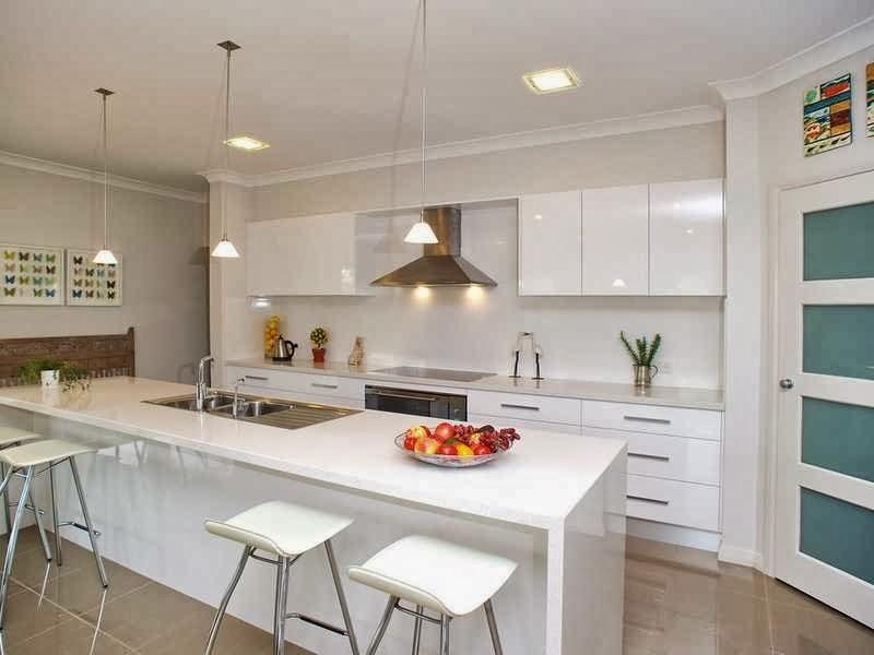 Hogares frescos 10 dise os de cocinas fabulosas muebles for Cocinas modernas en forma de u