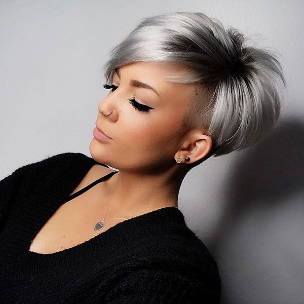 trendy short hairstyles 2019