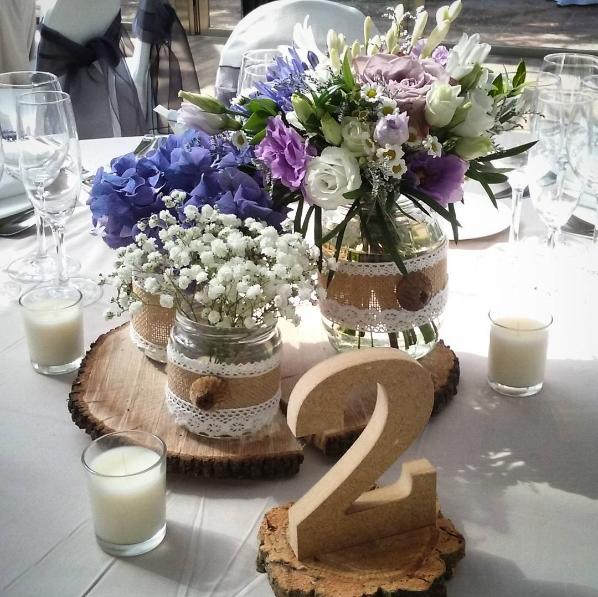 101 fiestas linda decoraci n rustica y natural con for Decoracion rustica para bodas