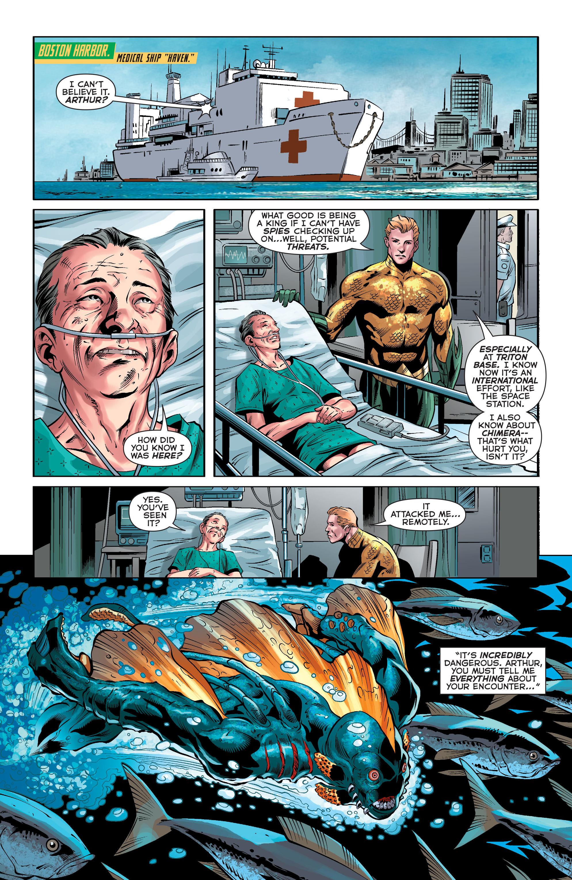 Read online Aquaman (2011) comic -  Issue #33 - 18