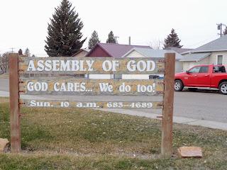 Dillon Assembly of God, Montana