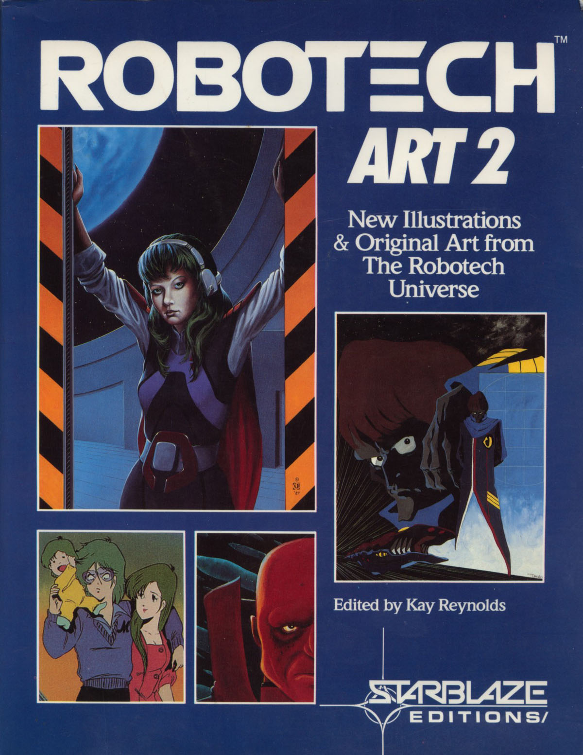 Robotech Art 1 by Kay Reynolds (1985, Paperback, Revised)