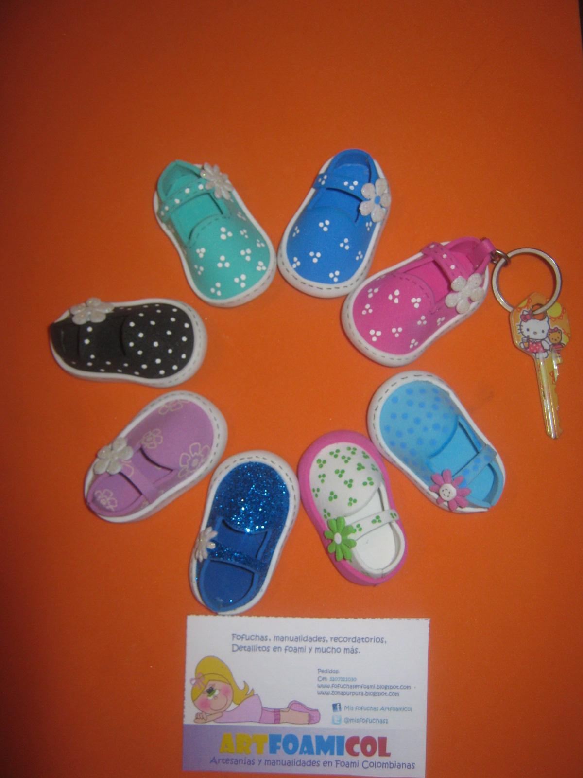 6ecf65a4143 Mis Fofuchas Artfoamicol Moldes Patrones Diseños  Zapatos Fofuchos ...