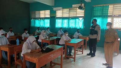 Siswa SMAN 19 di Tangerang Laksanakan Aktifitas Pembelajaran Tatap Muka