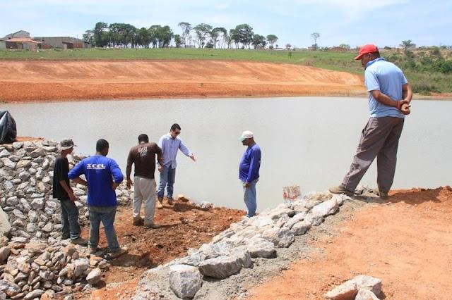 Senador Canedo: Obra ampliará reserva e abastecimento de água