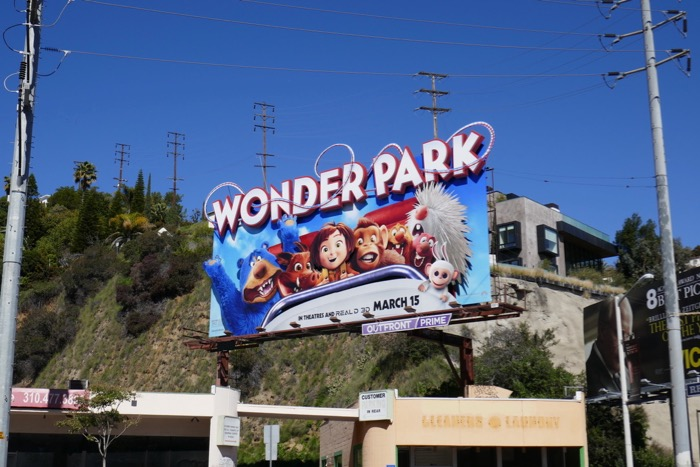 Wonder Park 3D billboard