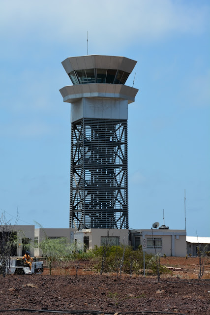 Baltra Airport tower