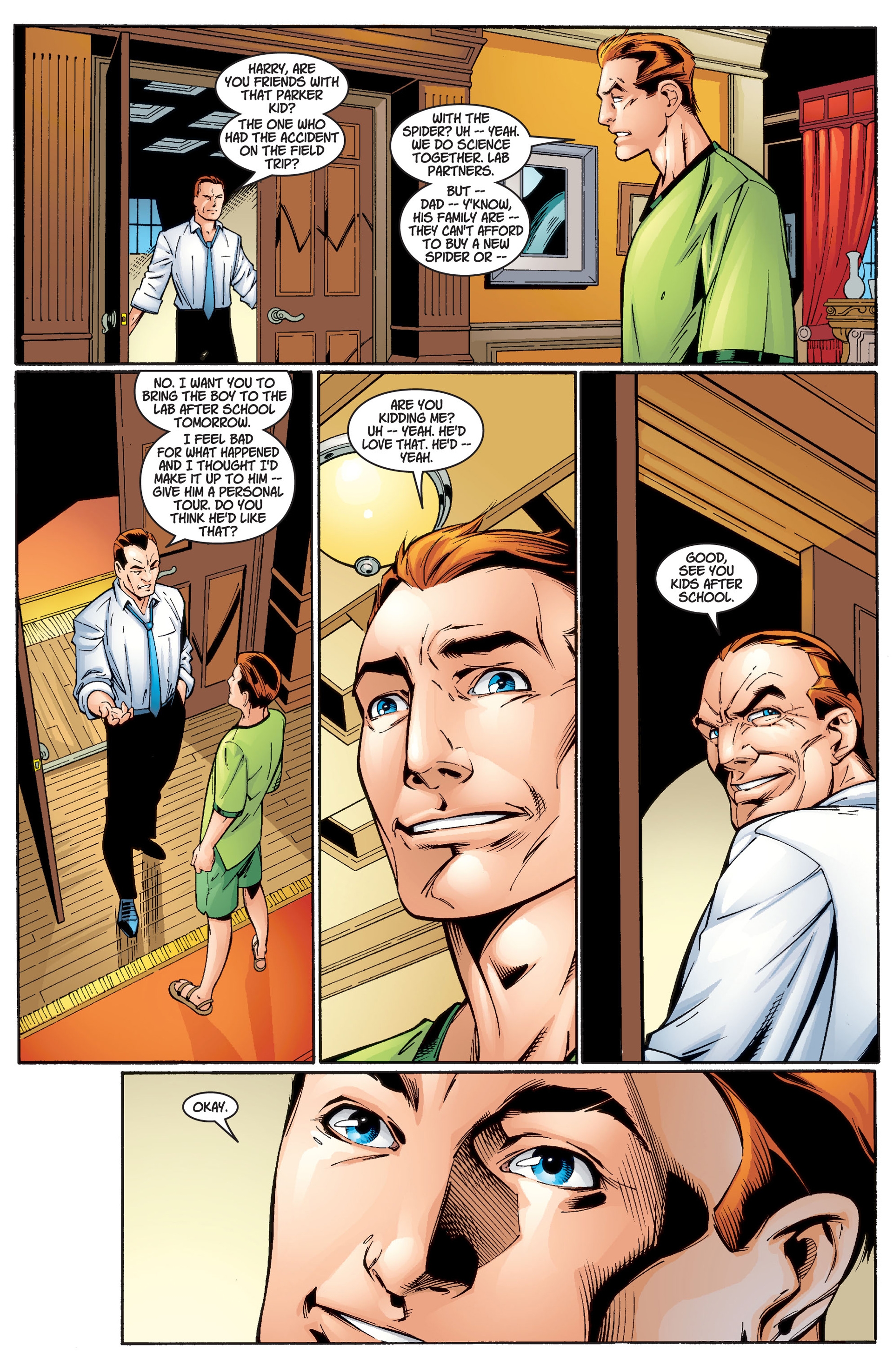 Read online Ultimate Spider-Man (2000) comic -  Issue #2 - 11