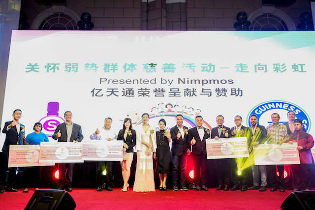 Charity Contribution by Nimpmos