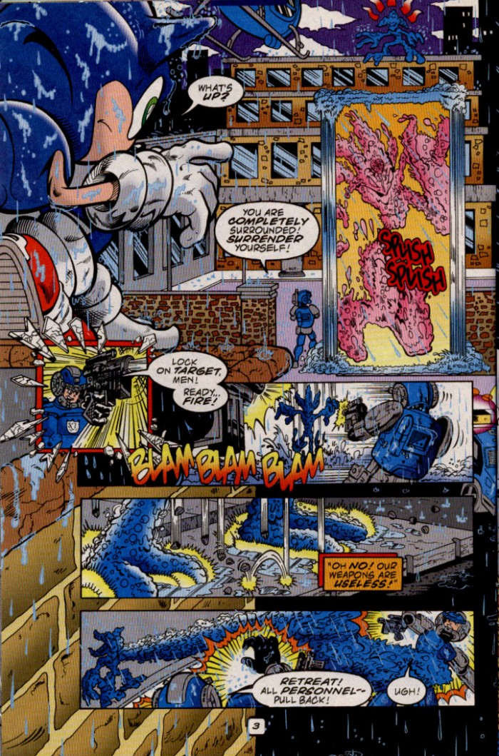 Read online Sonic The Hedgehog comic -  Issue #82 - 5