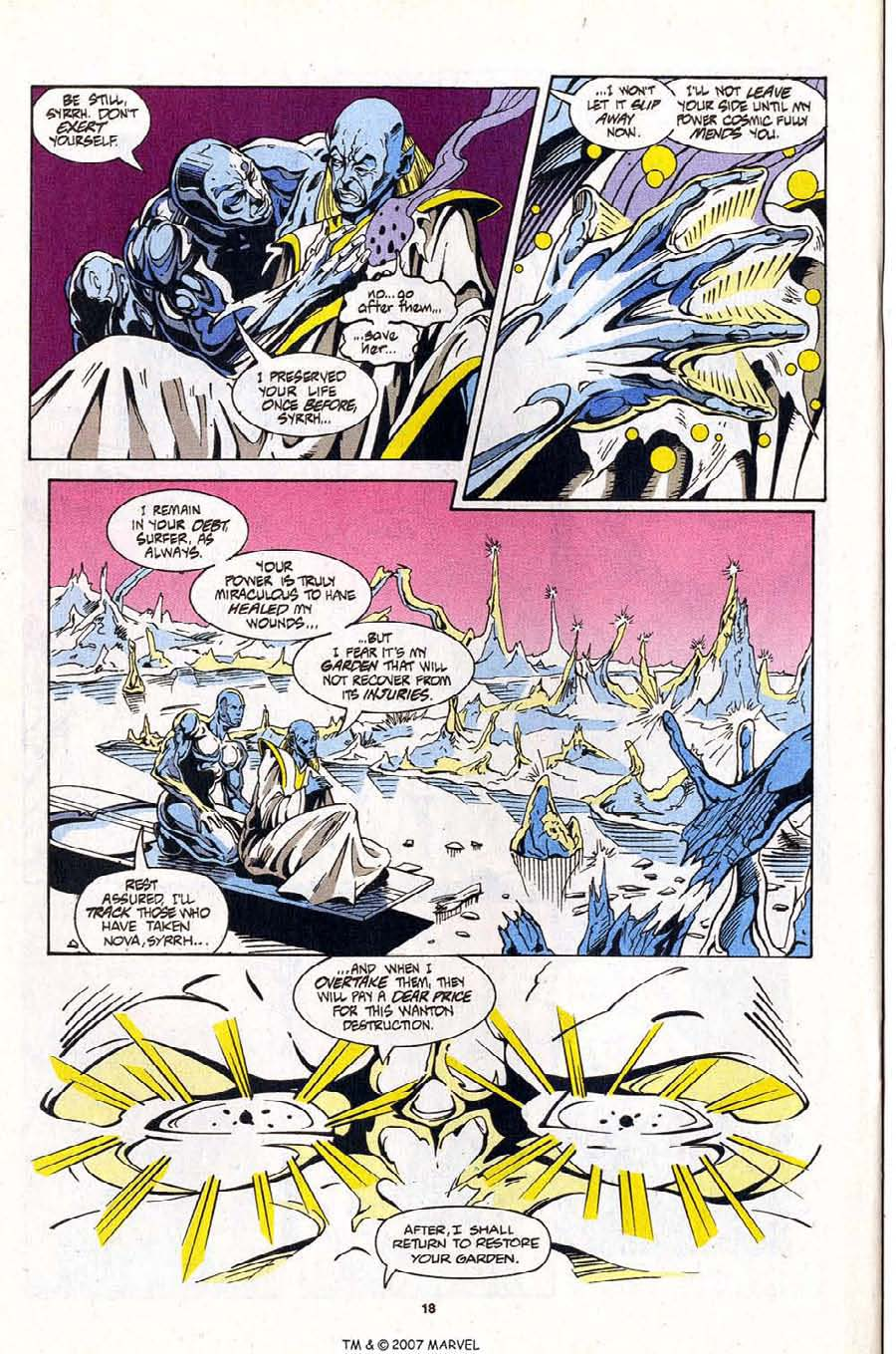 Read online Silver Surfer (1987) comic -  Issue #99 - 20