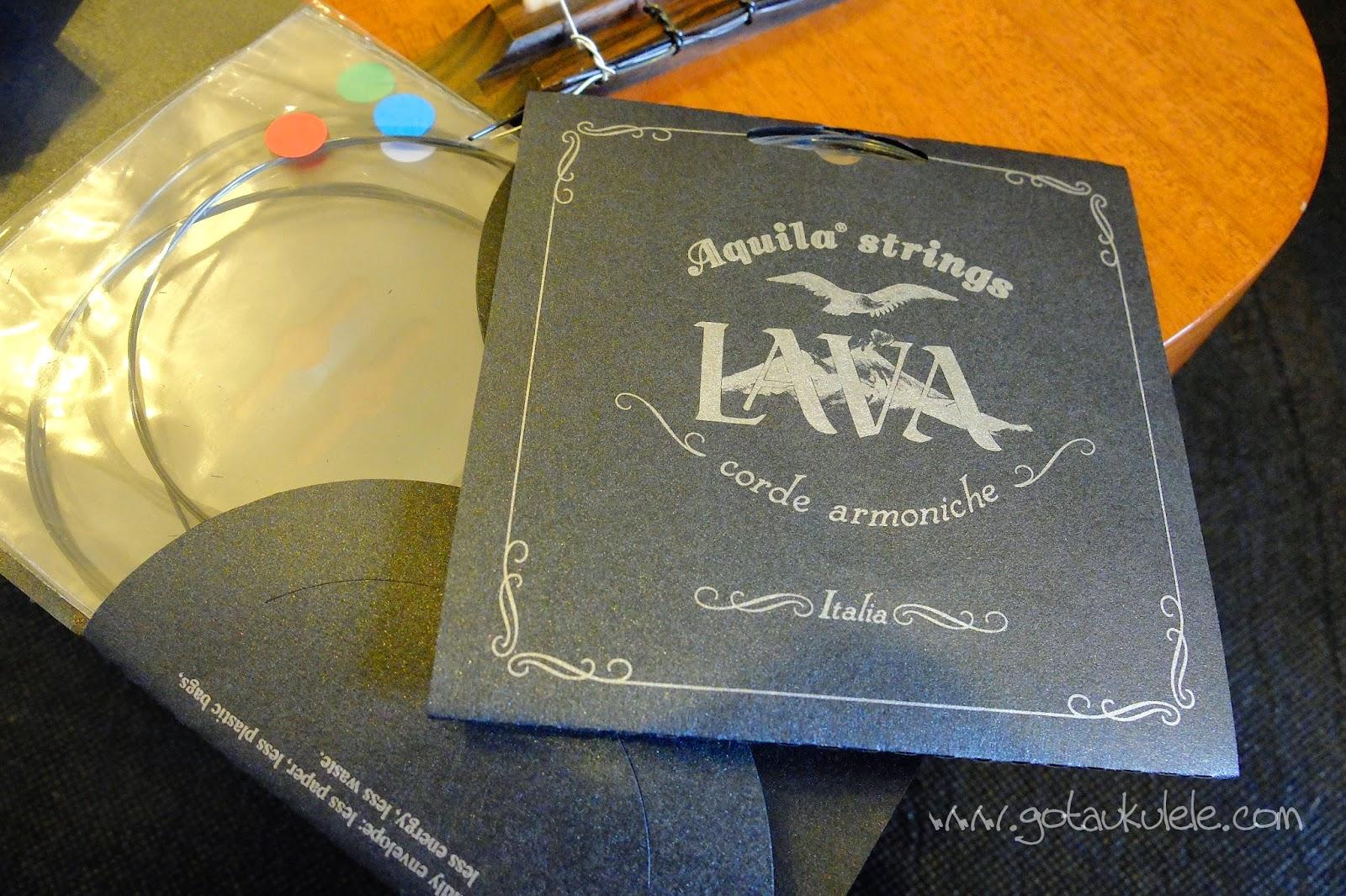 Aquila Lava Ukulele Strings
