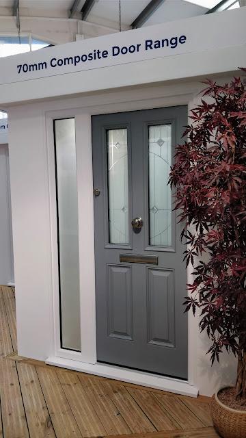 Front door showroom, SEH BAC Chelmsford, Essex