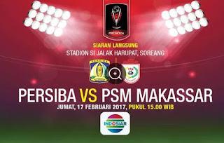Hasil Persiba Balikpapan vs PSM Makasar 1-3 Grup C Piala Presiden 2017