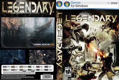 Jogo Legendary PC DVD Capa