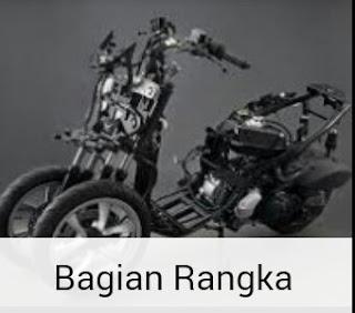 Bagian Rangka Motor
