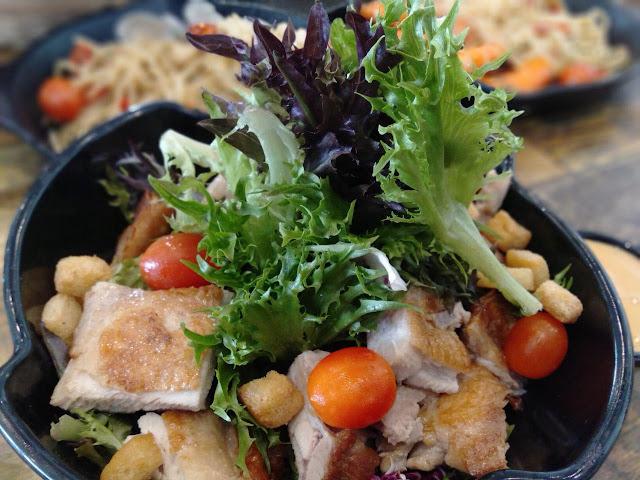 fresh salad restoran lemon tree johor bahru