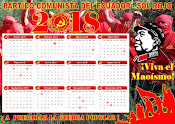 Communist Party Ecuador Red Sun