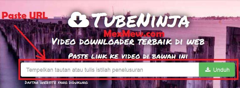Cara download video di xvideos