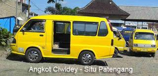 Angkot Ciwidey