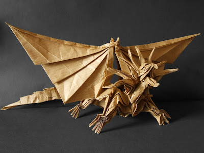 dragon origami for kids