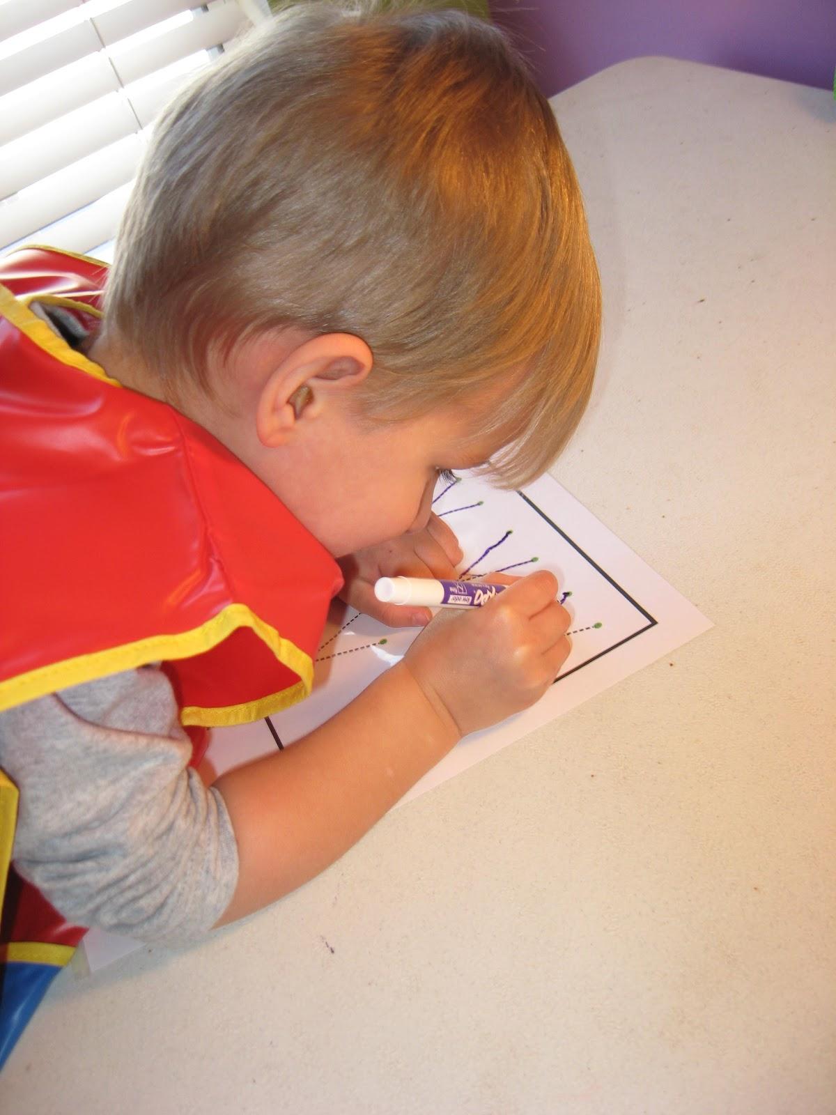 Fumbling Through Homeschooling Tot School Letter Of The