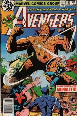 Avengers #180, the Monolith