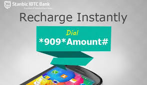 stanbic ibtc ussd recharge code