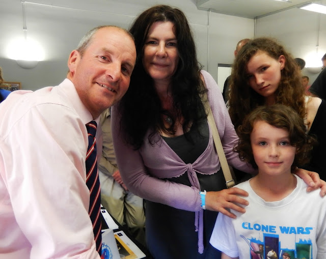 Meeting Chris Barrie