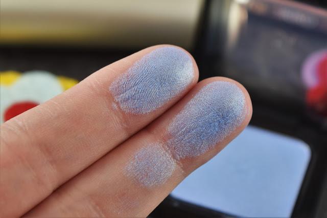 Kiko High Pigment Wet & Dry Eyeshadow in Metallic Indigo Swatch