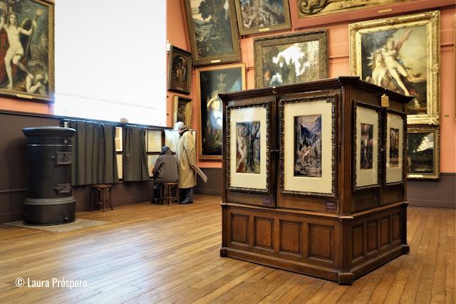 Fato quase único na história da arte, o processo criativo do artista é revelado graças ao conjunto de desenhos que podem ser consultados.