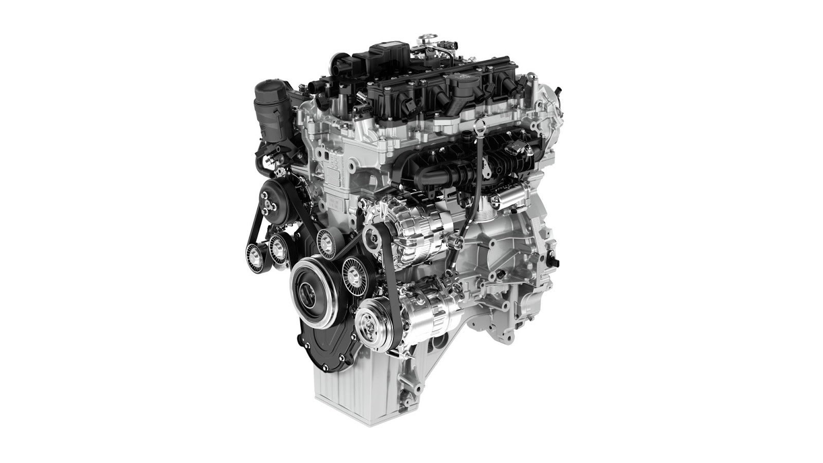 At the heart of its low-emissions strategy, the new four-cylinder Ingenium  petrol engine is now in production at Jaguar Land Rover's £1 billion Engine  ...