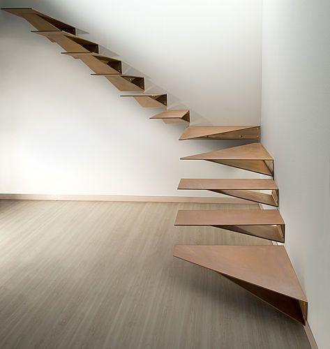 La escalera definici n partes y tipos de arkitectura - Materiales para escaleras ...