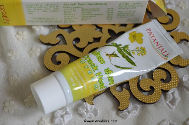 Patanjali Crack Heal Cream Review