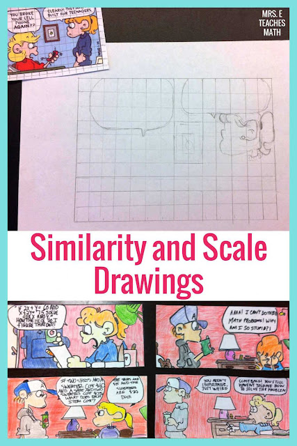 This project for similarity and scale drawings is such a fun project in geometry!  I always want to find fun activities for this unit.