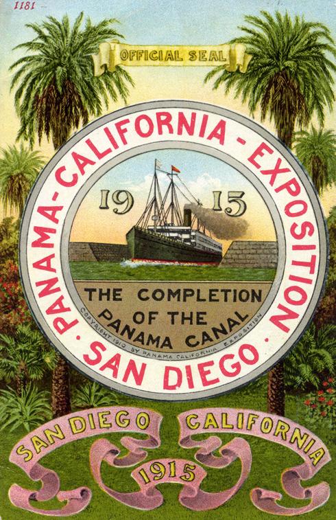 balboa park san diego panama california exposition