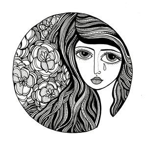 arte por Jody Pham | emotional black and white drawings, cool stuff, pictures, deep feelings | imagenes chidas imaginativas bonitas, emociones y sentimientos