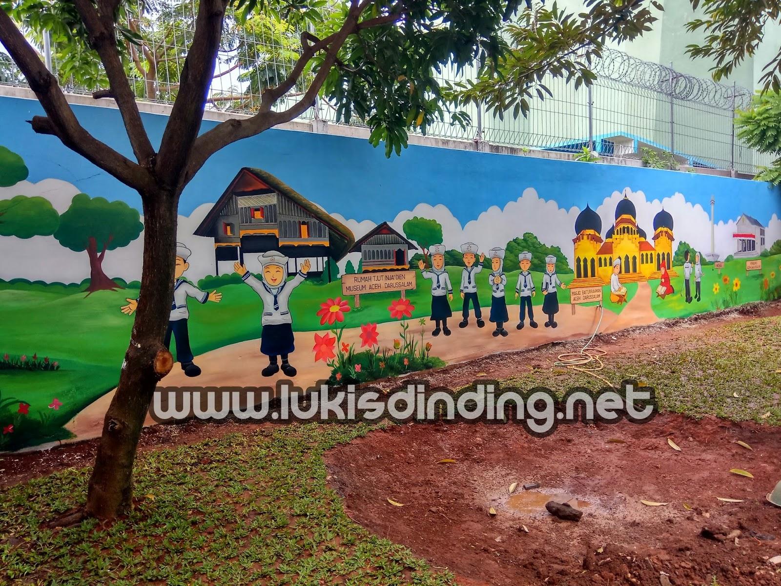 Mural Paud Lukis Dinding Tk Paud Lukis Dinding Jasa Mural Jasa Lukis Dinding Desain Mural