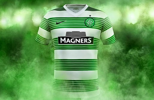 Camiseta Nike del Celtic de Glasgow