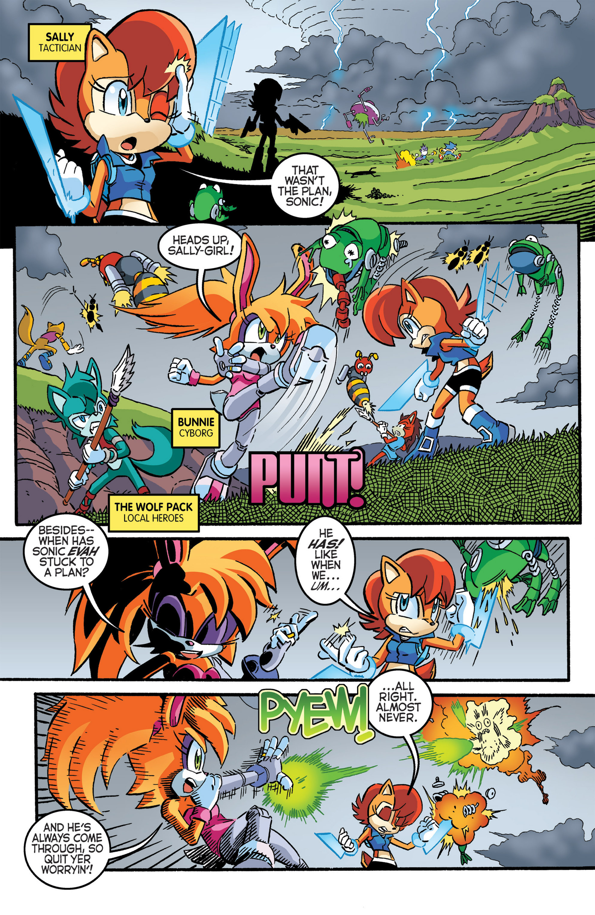 Read online Sonic The Hedgehog comic -  Issue #277 - 4