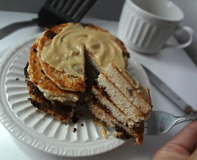 Peanut Butter Coconut Flour Pancakes