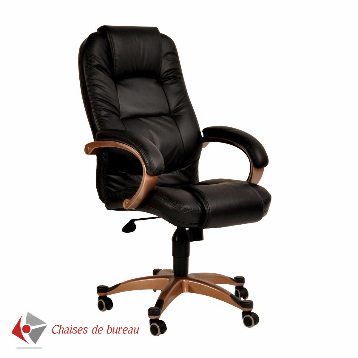 chaise de bureau design sans roulette. Black Bedroom Furniture Sets. Home Design Ideas
