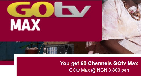 New GOtv Max Package, Available Channels and Price