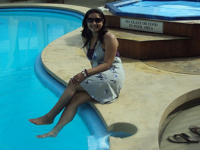 Enjoy Indian Real Life Indian Girl At Swimming Pool-2658